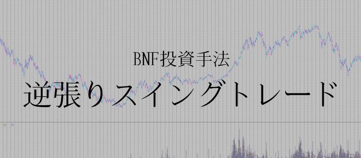 BNF 逆張りスイングトレード