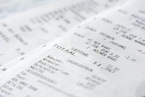 経費の領収書が感熱紙で消える前に!どんな保管方法がいい?