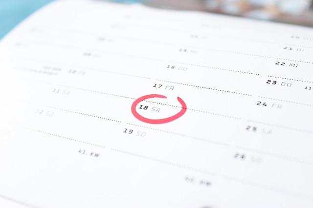 アフィリエイトの報酬を売上として計上する日付タイミングはいつ?